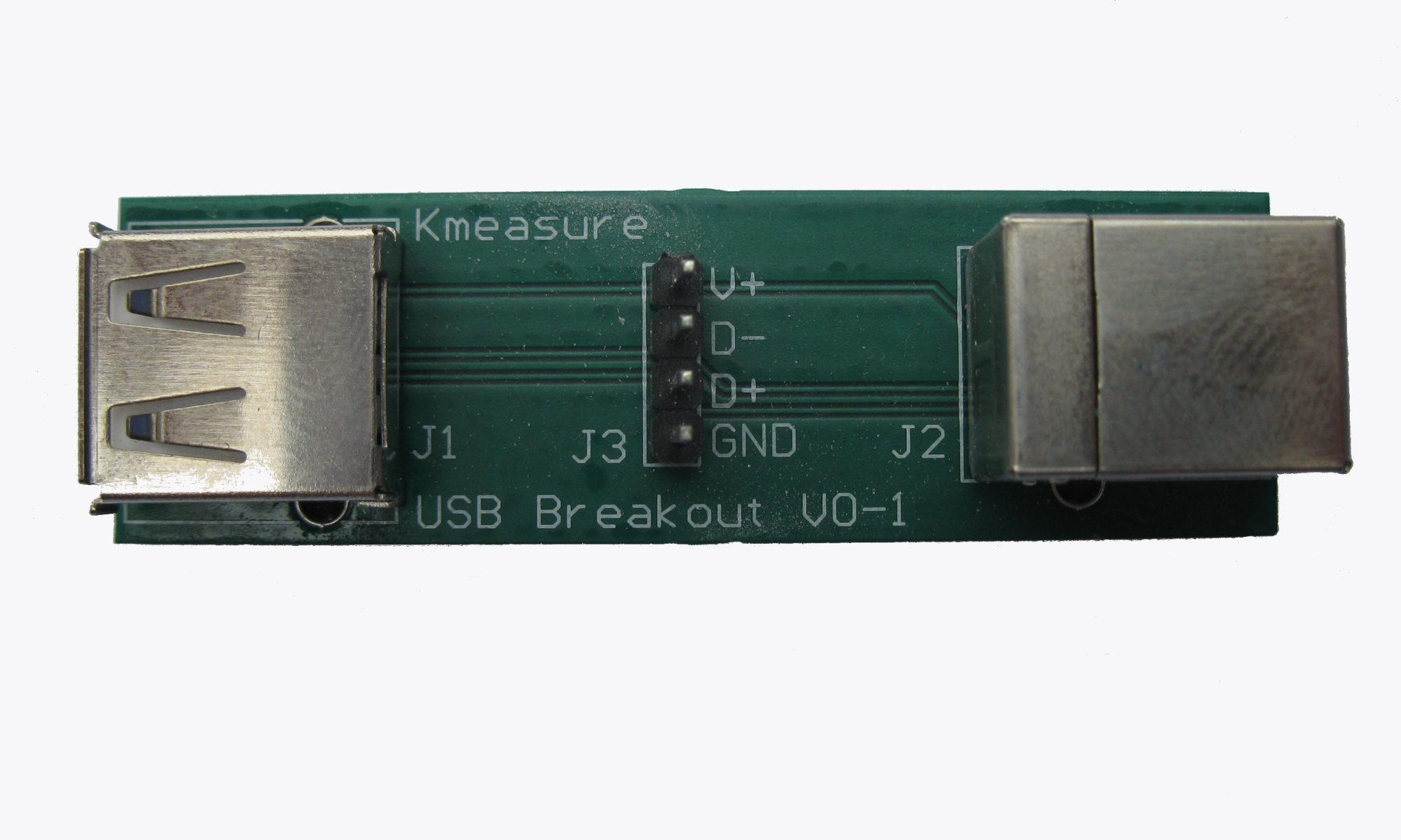 USB breakout board adapter
