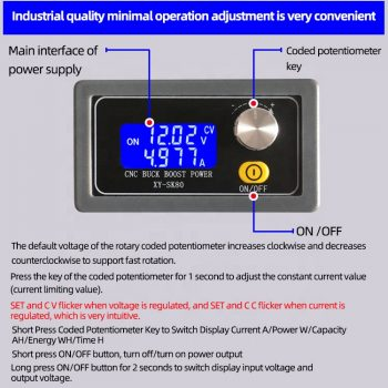 XY-SK80 Programmable Power Supply-functions